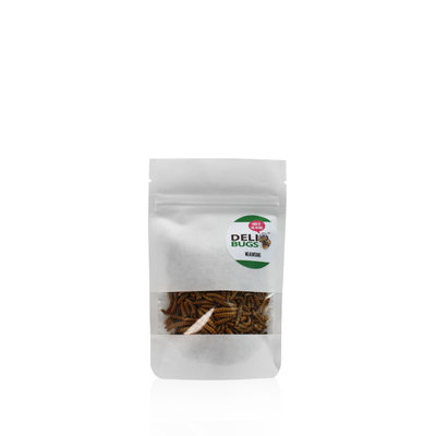 Gefriergetrocknete Mehlwürmer 13 Gramm