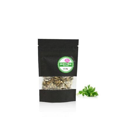Gefriergetrocknete Heimchen Garlic&Herbs 15 Gramm