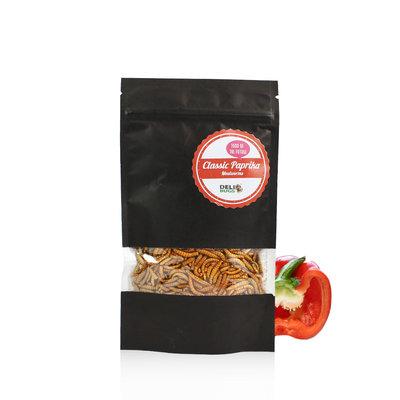 Gefriergetrocknete Mehlwürmer Classic Paprika 13 Gramm