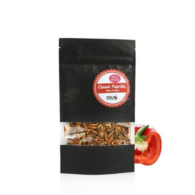 Gefriergetrocknete Heimchen Classic Paprika 40 Gramm