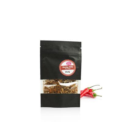 Gefriergetrocknete Heimchen Smokey BBQ 15 Gramm